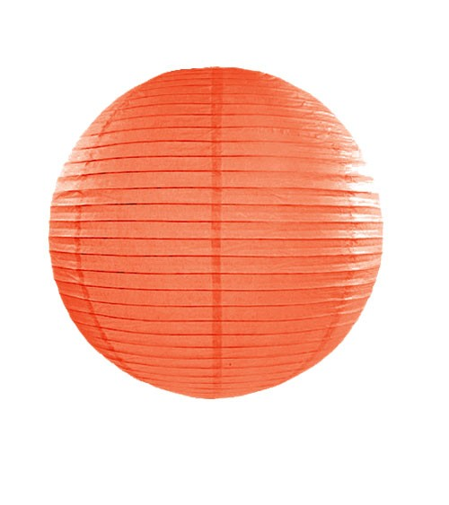 Papierlampion - orange - 25 cm