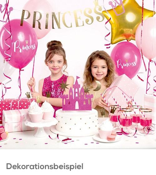 "Party-Deko-Set ""Prinzessin"" - 31-teilig"