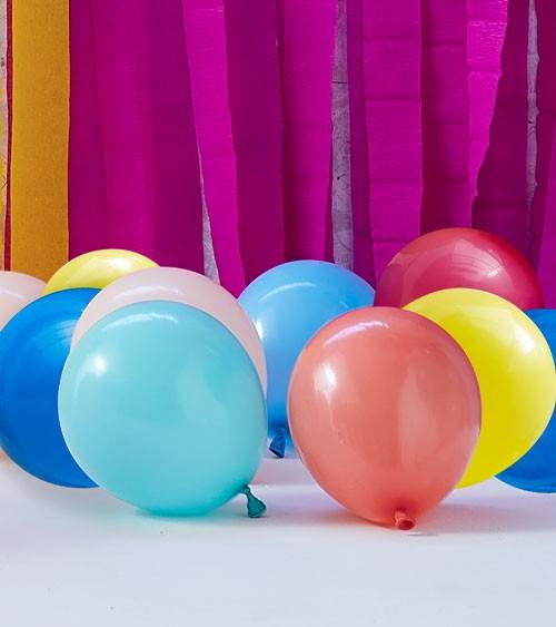 Mini-Luftballon-Set - Farbmix - 12 cm - 40 Stück