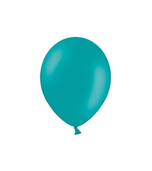 Mini-Luftballons - türkisblau - 12 cm - 100 Stück