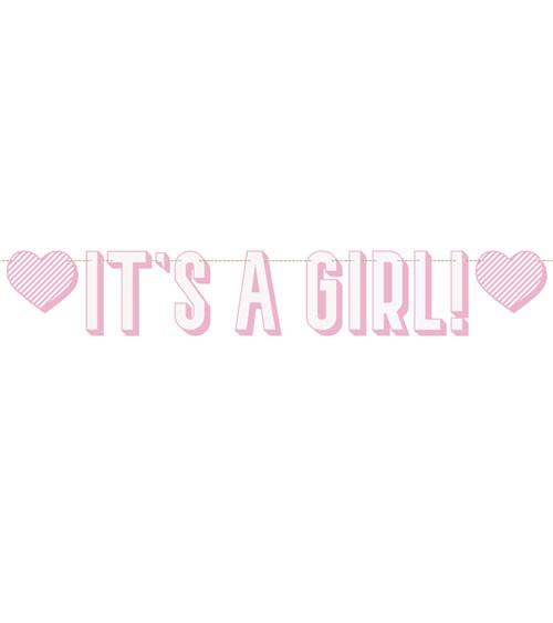 It's a Girl-Girlande - rosa - 1,52 m