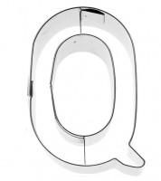 Ausstechform Buchstabe Q - 6 cm