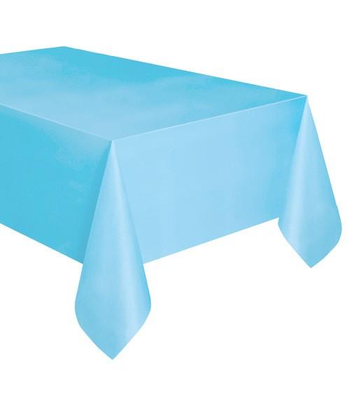 """Kunststoff-Tischdecke """"Powder Blue"""" - 137 x 274 cm"""