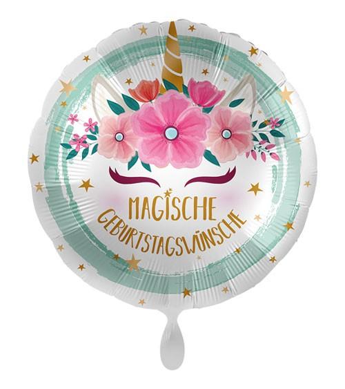 "Folienballon ""Unicorn Boho"""