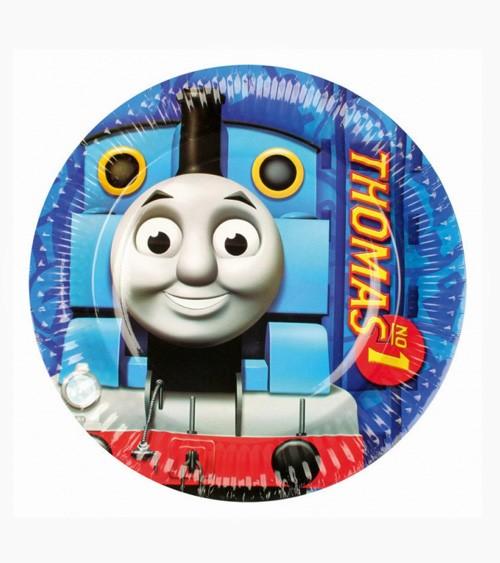 """Pappteller """"Thomas und seine Freunde"""" - 8 Stück"""