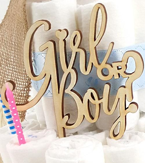 """Windeltorte """"Girl or Boy"""""""
