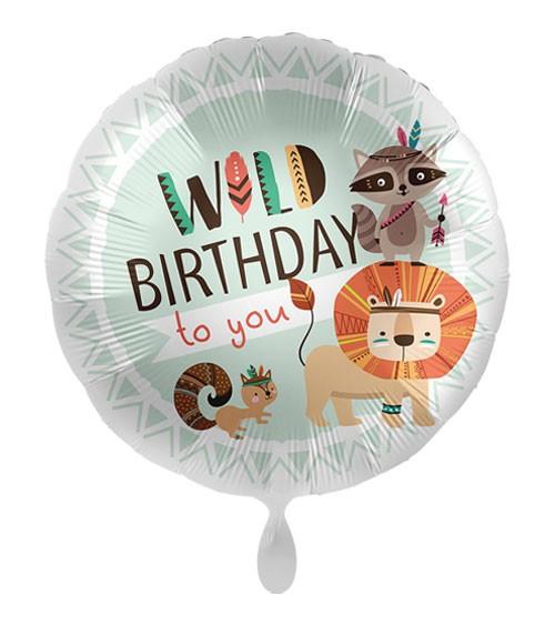 """Folienballon """"Wild Birthday to you"""""""
