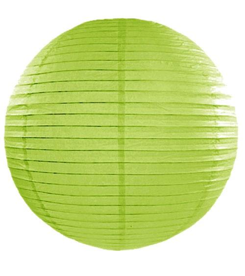 Papierlampion - apfelgrün - 45 cm