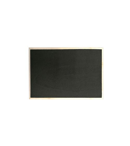 Kreidetafel aus Holz - 7 x 5 cm