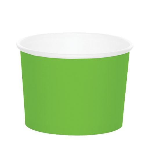 Eisbecher - fresh lime - 6 Stück