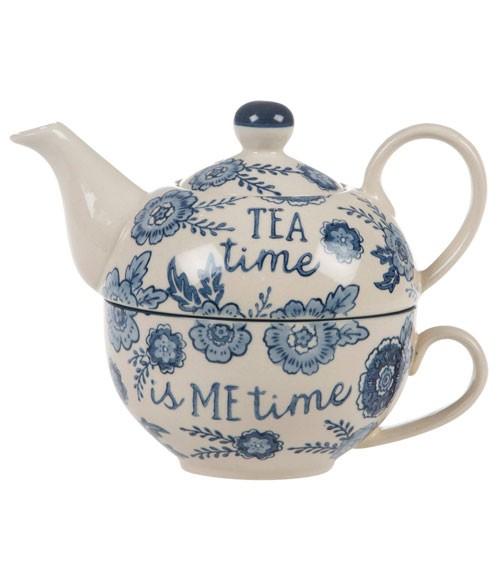 """Tee-Set aus Keramik """"Me Time"""" - 2-teilig"""