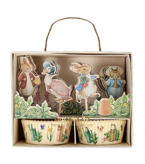 """Cupcake-Kit """"Peter Rabbit"""" - 48-teilig"""