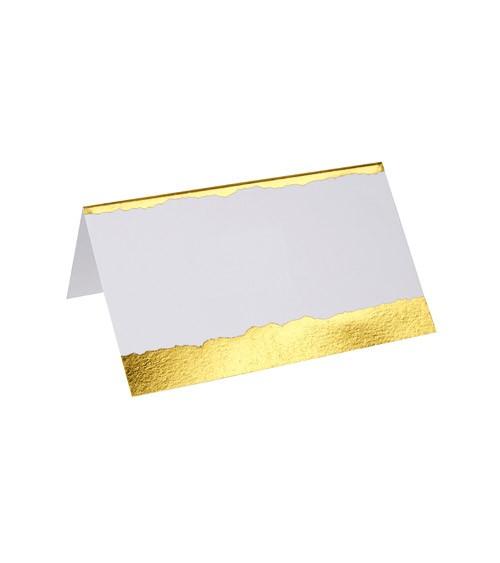 """Platzkarten """"Dipped in Gold"""" - 25 Stück"""