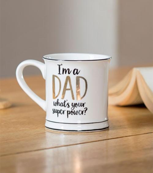 """Tasse aus Porzellan """"I'm a Dad"""""""