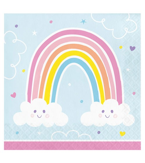 "Servietten ""Happy Rainbow"" - 16 Stück"