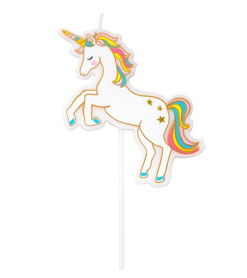 """Kuchenkerze """"Unicorn"""" - 9 cm"""