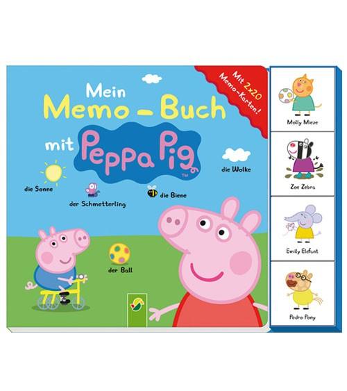 Peppa Pig - Memo-Buch