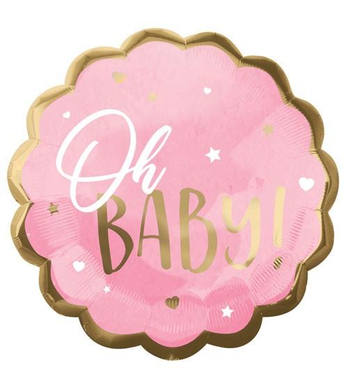 "Jumbo-Folienballon ""Oh Baby Girl"" - 55 cm"