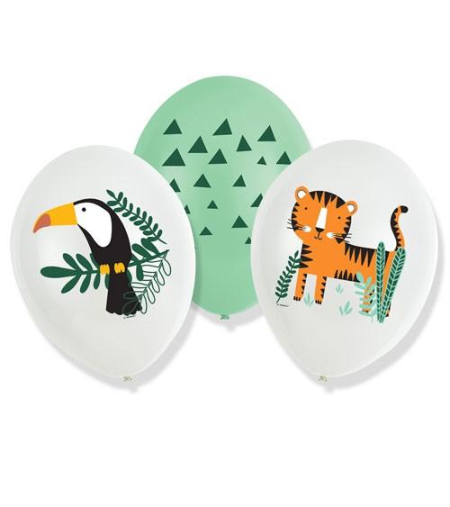 "Luftballon-Set ""Get Wild"" - 6-teilig"
