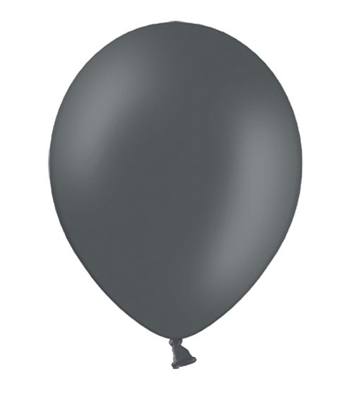 Standard-Luftballons - dunkelgrau - 50 Stück