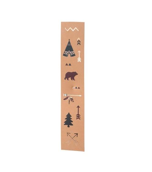 """Sticker-Rolle """"Indian Forest"""" - 44 Sticker"""