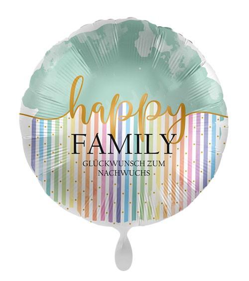 """Folienballon """"Happy Family"""" - 43 cm"""