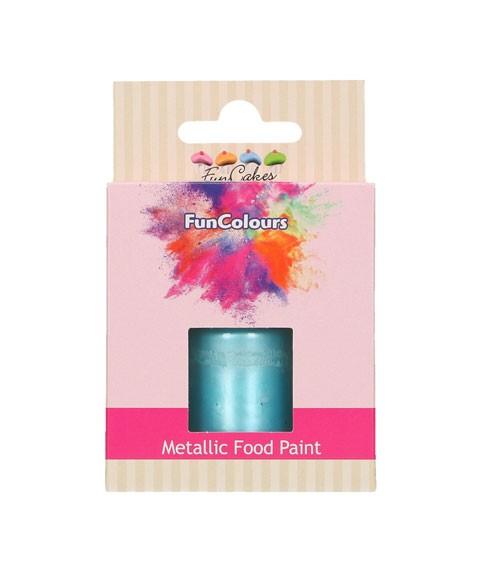 FunCakes Lebensmittelfarbe - metallic baby blue - 30 ml