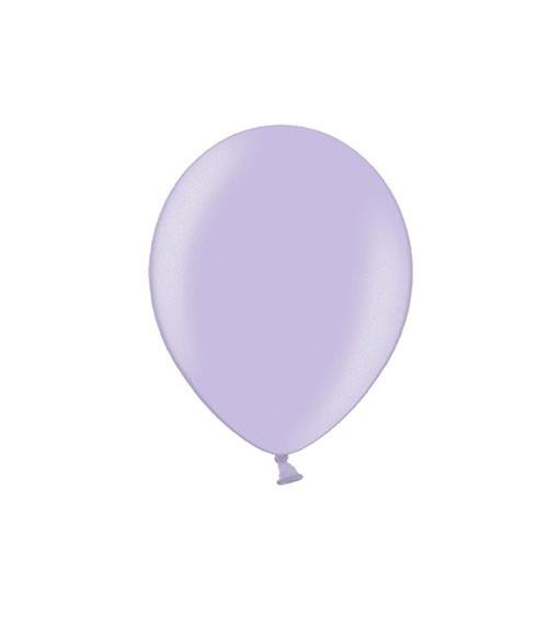 Mini-Luftballons - metallic lavendel - 12 cm - 100 Stück