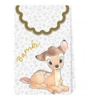 """Papiertüten mit Metallic-Effekt """"Bambi"""" - 6 Stück"""