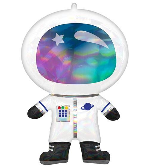 "SuperShape-Folienballon ""Astronaut"" - irisierend - 50 x 76 cm"