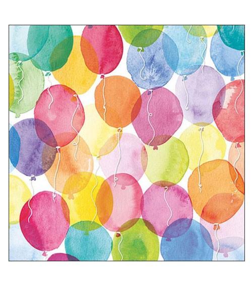 """Servietten """"Aquarell Balloons"""" - 20 Stück"""