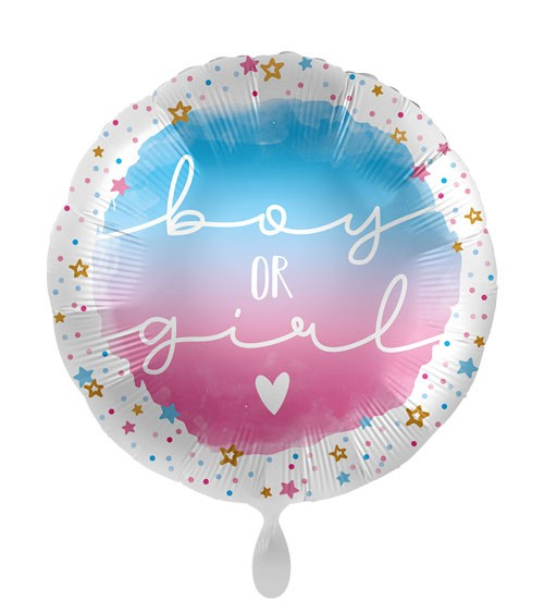 """Folienballon """"Boy or Girl"""""""