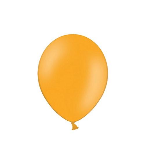 Mini-Luftballons - mandarinorange - 12 cm - 100 Stück
