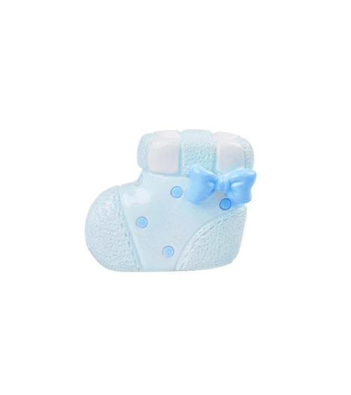 "Deko-Figur ""Baby Boy Schuh"" - 3 cm"