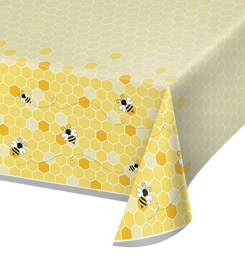 """Kunststoff-Tischdecke """"Kleine Biene"""" - 137 x 259 cm"""
