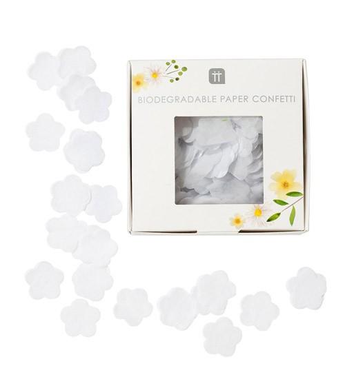 Konfetti-Blüten - weiss - 2 g