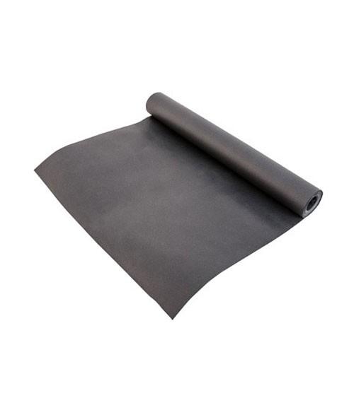 """Tischläufer aus Papier """"Tafel"""" - schwarz - 33,7 cm x 10 m"""
