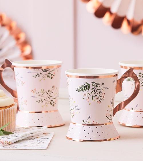 "Papptassen ""Botanical Tea Party"" - 8 Stück"