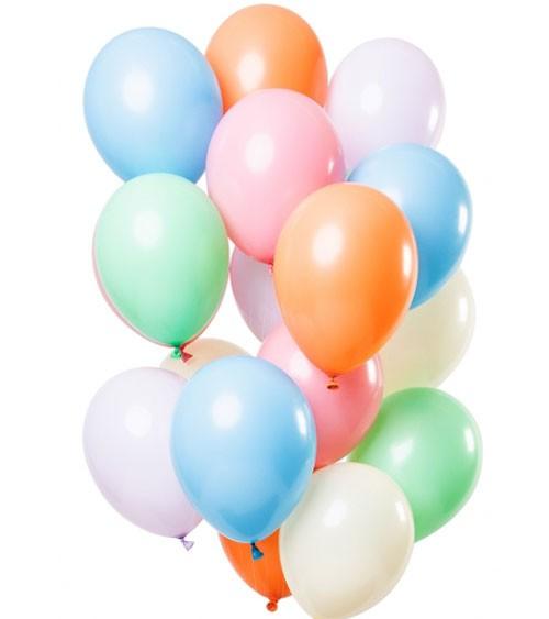 """Luftballon-Set """"Pastell - 15-teilig"""